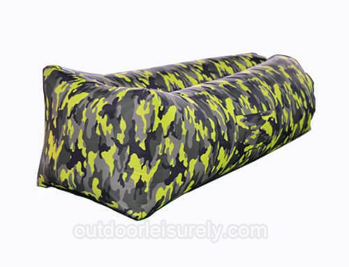 Inflatable Lounger air Couch Chair and Sofa Pouch