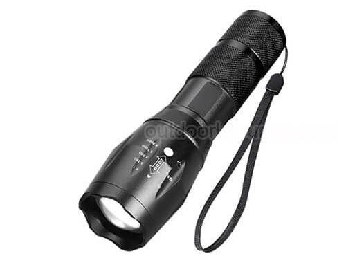 Outdoor Water Resistant  Flashlight Torch for Camping