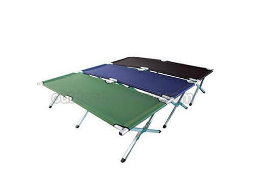 Lightweight Camp Cot for Adult Outdoor Bedding