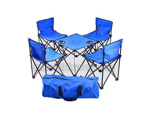 Portable Folding Camping Cot Outdoor Chair Sets