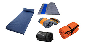 sleeping bag & pad
