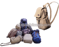 Canvas Backpack with USB Charging 4