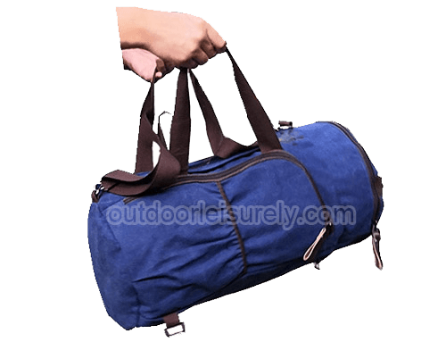 Canvas Leisure Duffel Bag Travel Luggage Bag