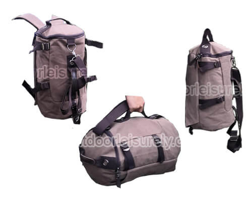 Canvas Travel Backpack-2