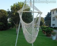 Cotton Rope Cradle Chair 1