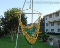 Cotton Rope Cradle Chair 2