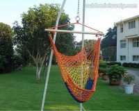 Cotton Rope Cradle Chair 3