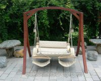 Deluxe Hanging Hammock Lounger Chair 1