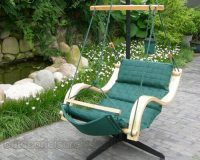 Deluxe Hanging Hammock Lounger Chair 2