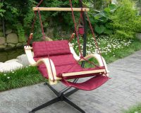 Deluxe Hanging Hammock Lounger Chair 3
