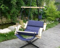 Deluxe Hanging Hammock Lounger Chair 4