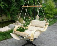 Deluxe Hanging Hammock Lounger Chair 5