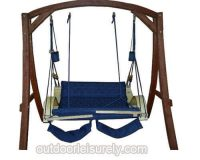 Deluxe Hanging Hammock Lounger Chair 6