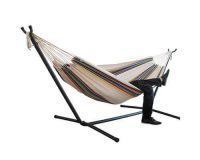Fabric Hammock with Stand 1
