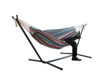 Fabric Hammock with Stand 2