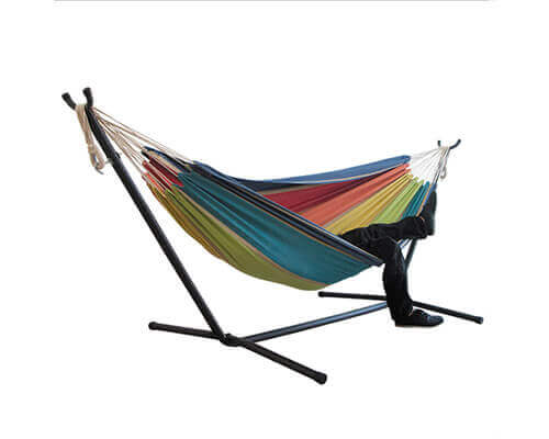 Fabric Hammock with Stand 4