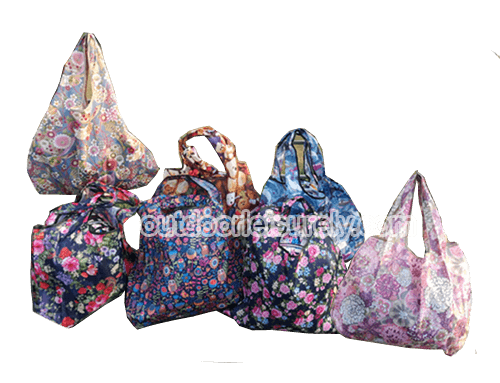 Foldable Bags for Shopping Travel Beach
