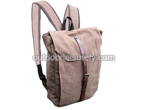 Genuine Canvas Travel Backpack
