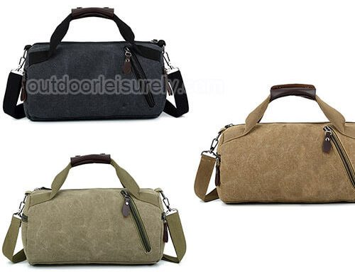 Sport Canvas Duffel Bag