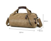 Sport Canvas Duffel Bag 6