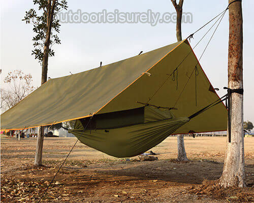 Survival Hammock with mosquito net 1