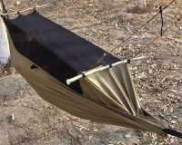 Survival Hammock with mosquito net 2