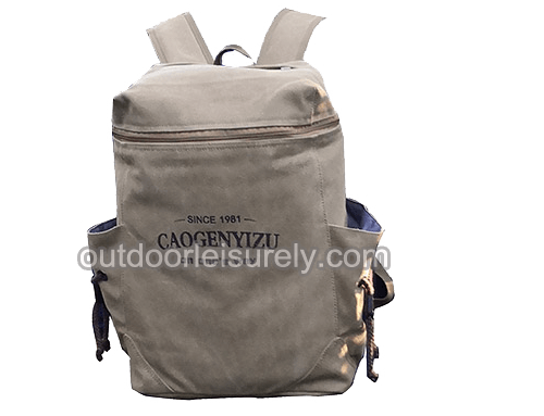 Vintage Canvas Backpack Casual Daypack